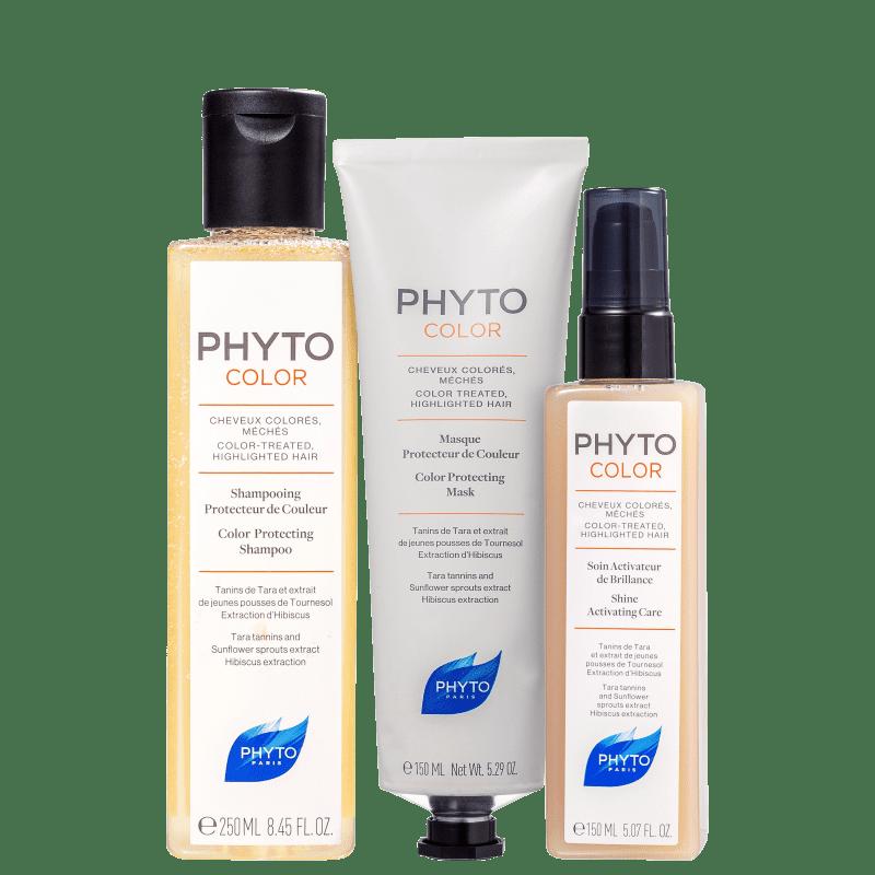 Kit PHYTO Phytocolor Completo (3 Produtos)