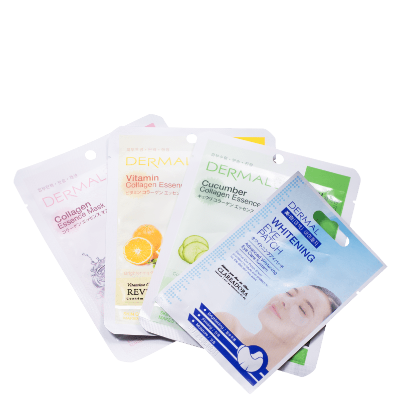 Kit Dermal K-Beauty Mask (4 Produtos)