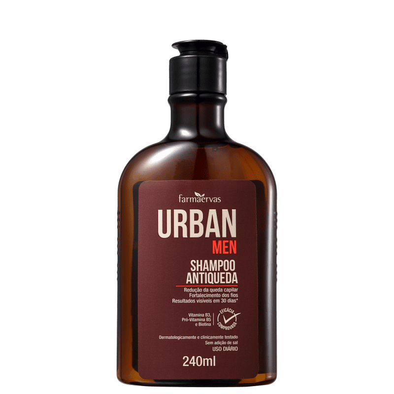 Farmaervas Urban Men - Shampoo Antiqueda 240ml
