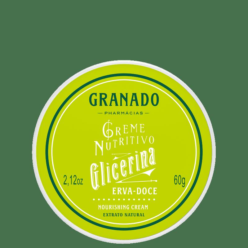 Granado Erva-doce Glicerina - Creme Hidratante Corporal 60g