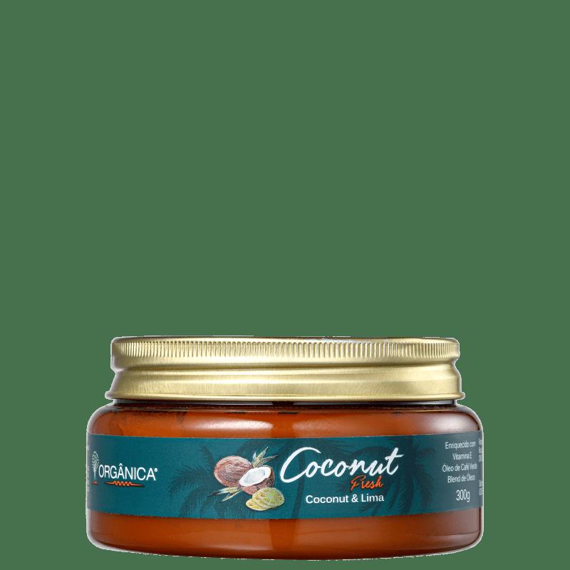 Orgânica Coconut & Lima Fresh Oil - Creme Hidratante 300g