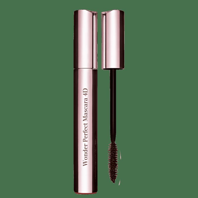 Clarins Wonder Perfect 4D Noir Black - Máscara para Cílios 7ml