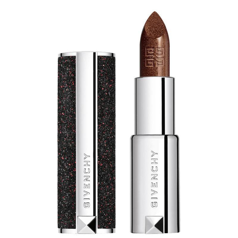 Givenchy Le Rouge Night Noir N°3 Night in Gold - Batom Cremoso 3,4g