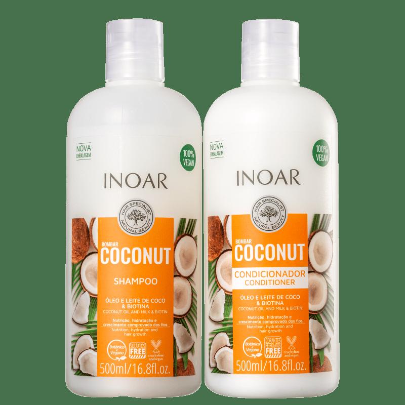 Kit Inoar Bombar Coconut Duo (2 Produtos)