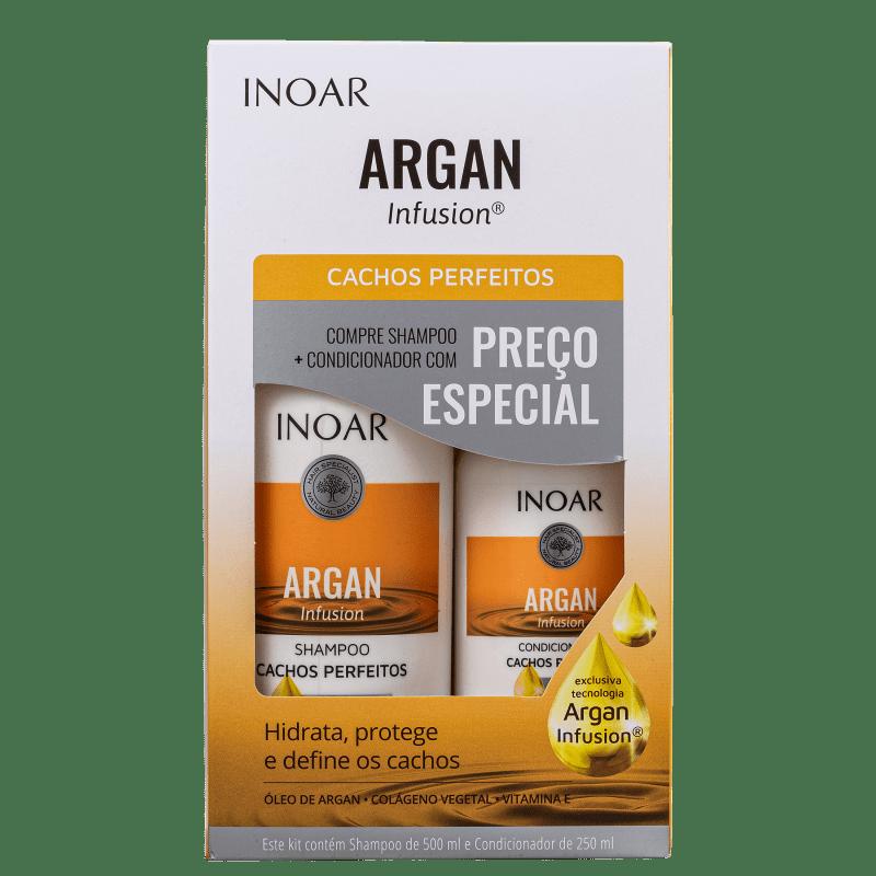 Kit Inoar Argan Infusion Cachos Perfeitos (2 Produtos)