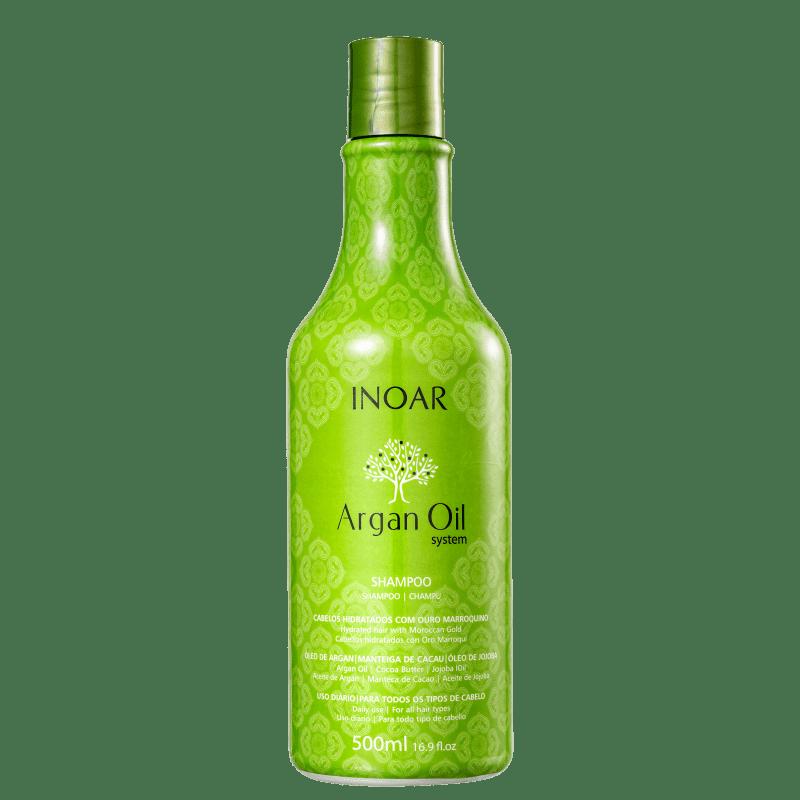Inoar Argan Oil System - Shampoo 500ml