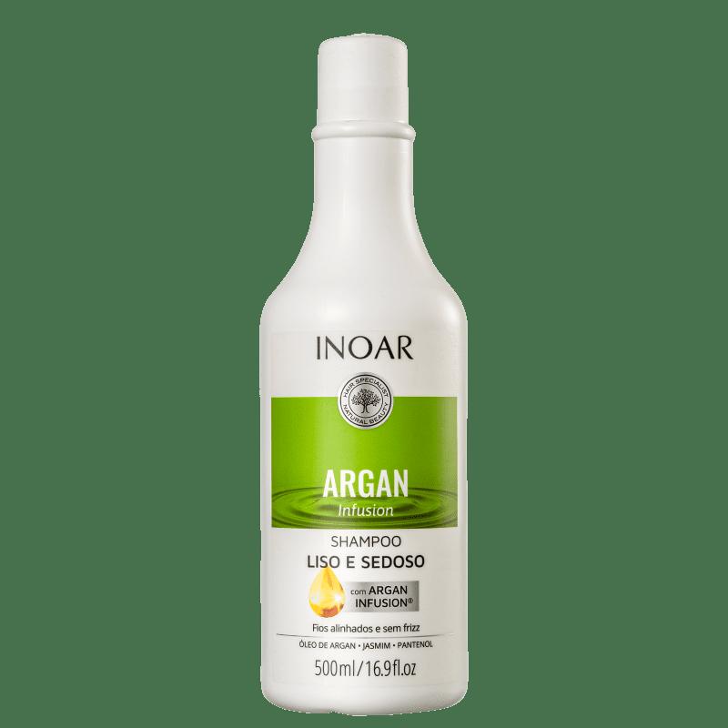 Inoar Argan Infusion Liso e Sedoso - Shampoo 500ml
