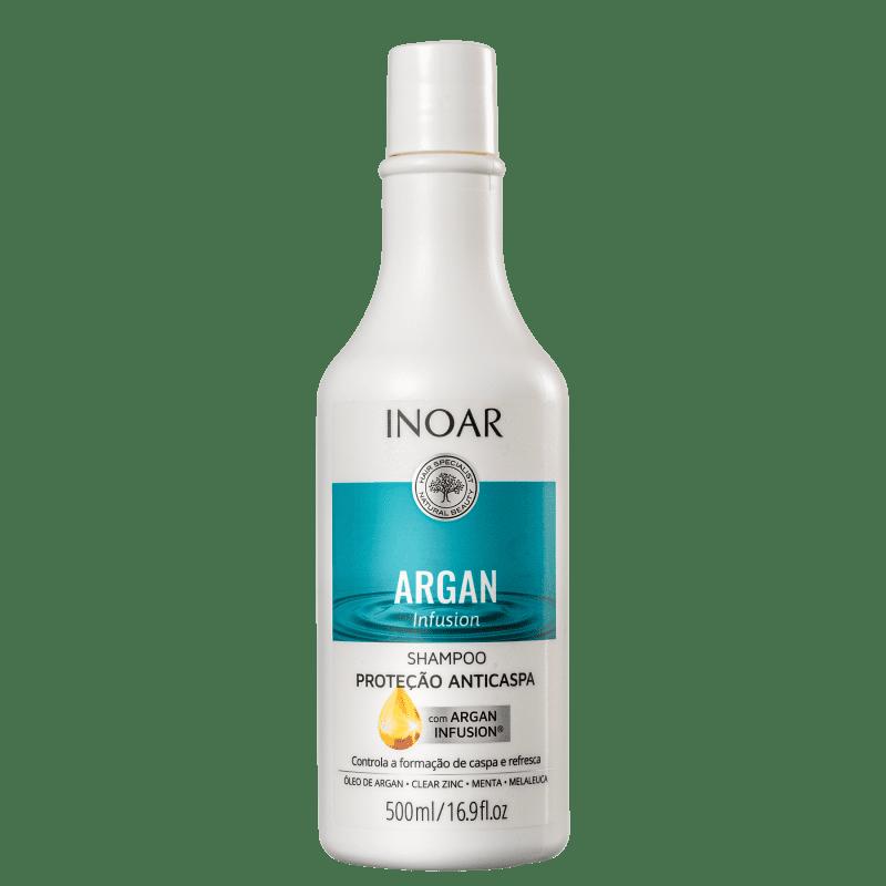 Inoar Argan Infusion Proteção Anticaspa - Shampoo 500ml
