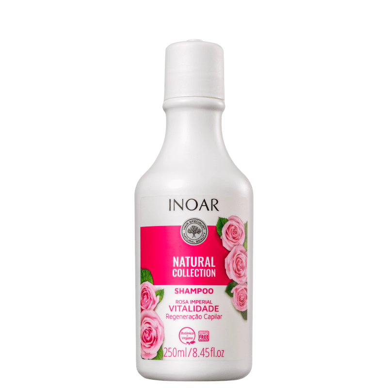 Inoar Natural Collection Rosa Imperial - Shampoo 250ml
