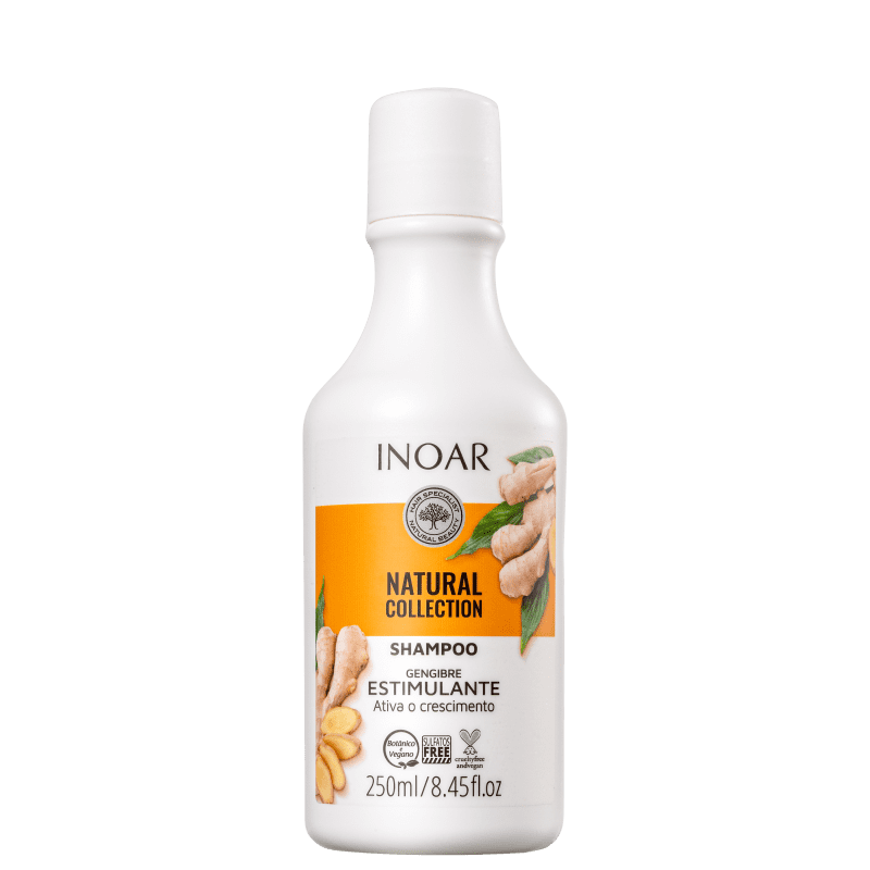 Inoar Natural Collection Gengibre - Shampoo 250ml