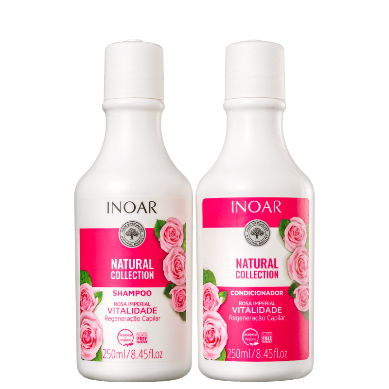 Kit Inoar Natural Collection Rosa Imperial Duo (2 Produtos)