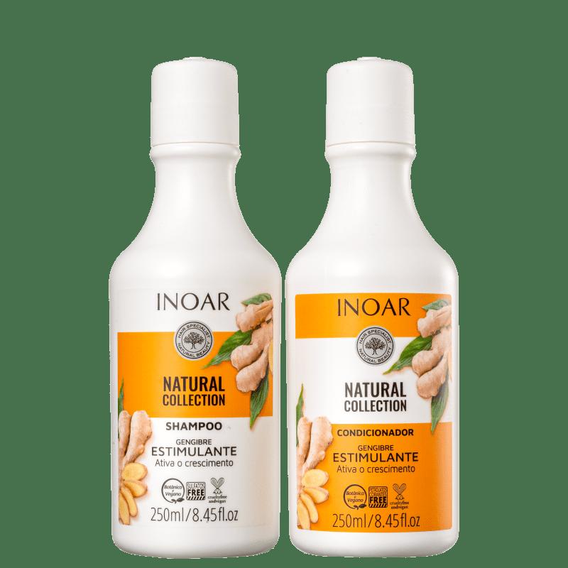 Kit Inoar Natural Collection Gengibre Duo (2 Produtos)