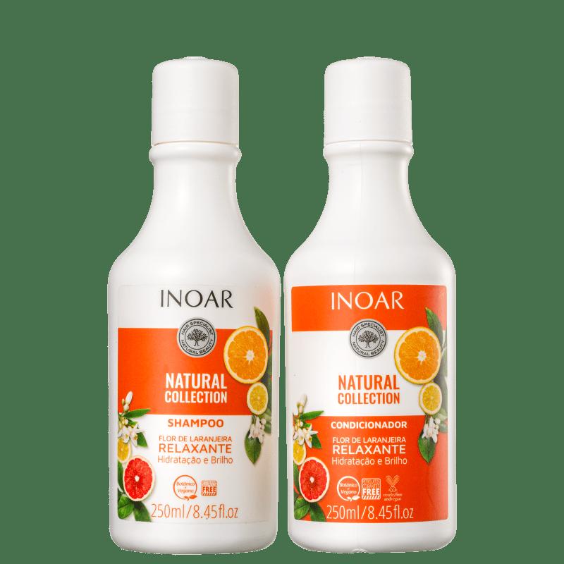 Kit Inoar Natural Collection Flor de Laranjeira Duo (2 Produtos)