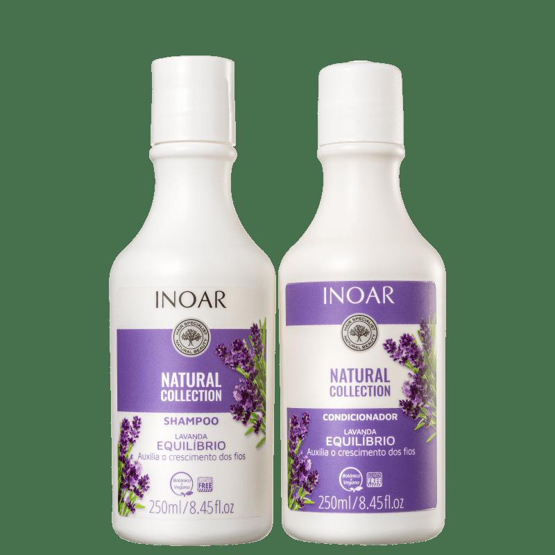 Kit Inoar Natural Collection Lavanda Duo (2 Produtos)