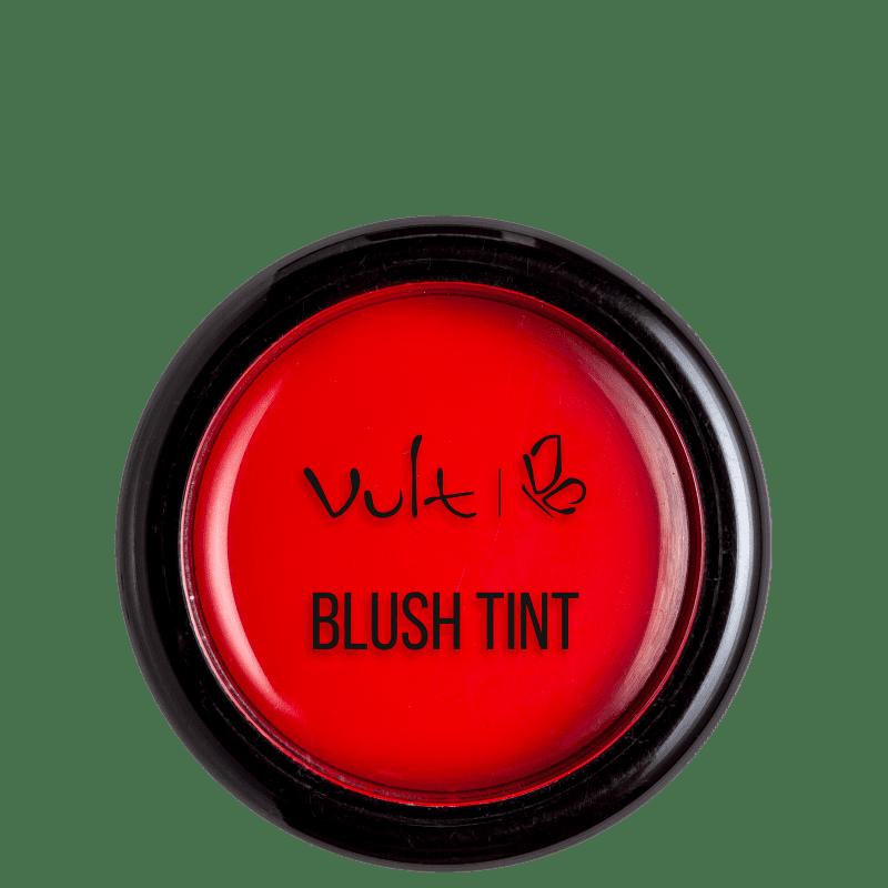 Blush Vult Tint 3 em 1 Vermelho 2,8g
