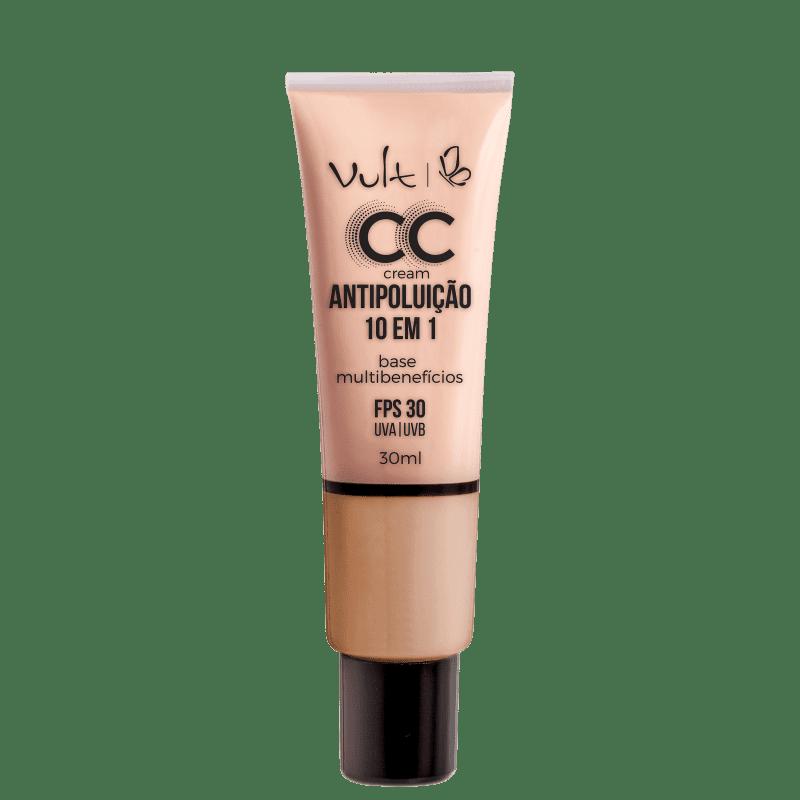 CC Cream Vult Antipoluição 10 em 1 MB03 Bege 30ml
