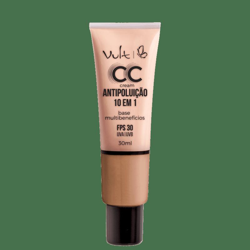 CC Cream Vult Antipoluição 10 em 1 MB04 Bege 30ml