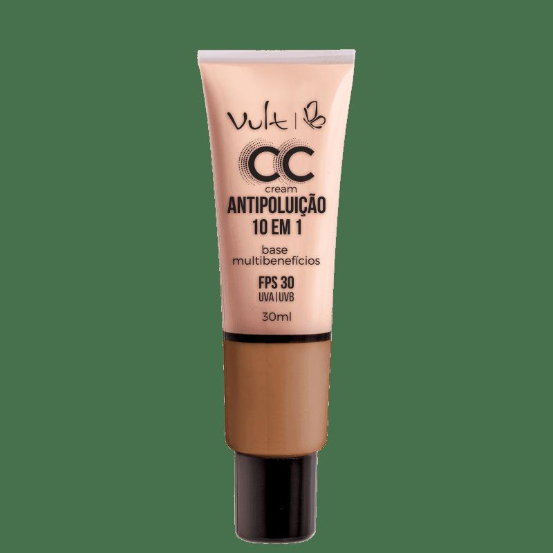 CC Cream Vult Antipoluição 10 em 1 MB05 Bege 30ml