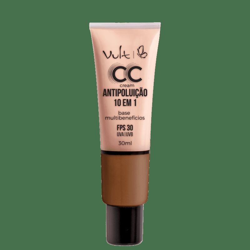 Vult Antipoluição 10 em 1 MB06 Marrom - CC Cream 30ml