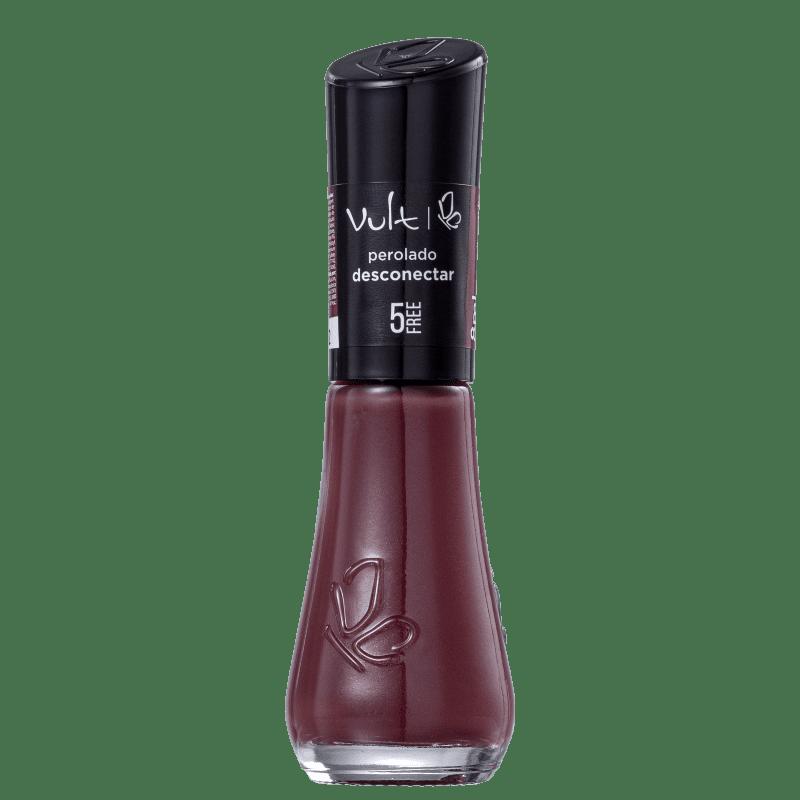 Vult 5Free Desconectar Vermelho - Esmalte Cremoso 8ml