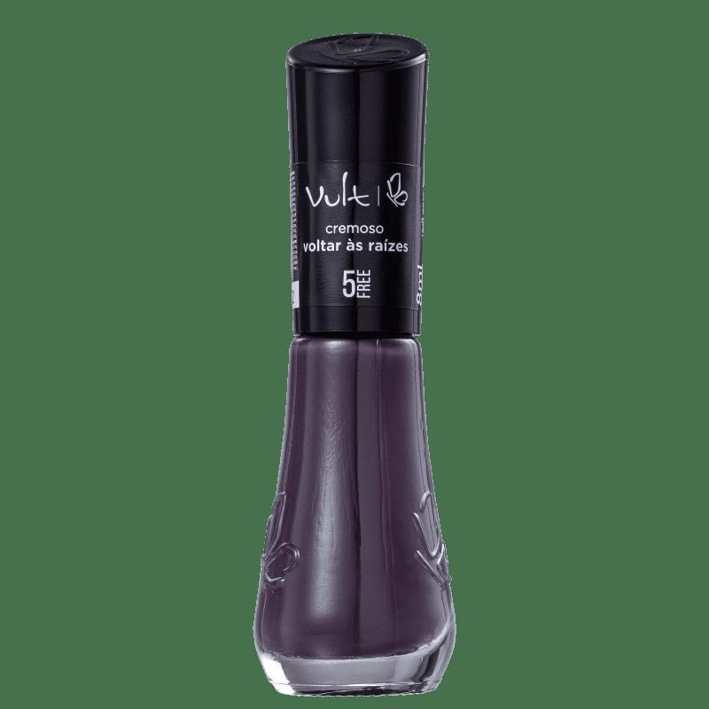 Esmalte Cremoso Vult 5Free Voltar as Raizes Vermelho 8ml