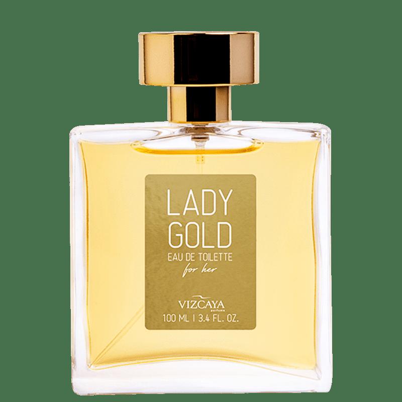 Lady Gold Vizcaya Eau de Toilette - Perfume Feminino 100ml