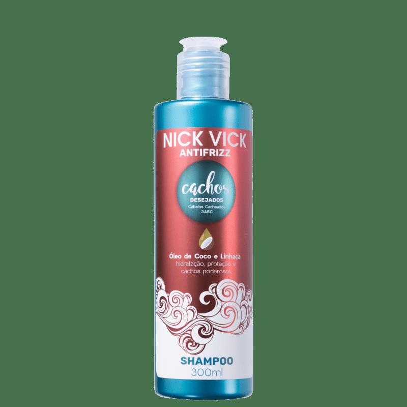 Nick & Vick Antifrizz Cachos Desejados - Shampoo 300ml