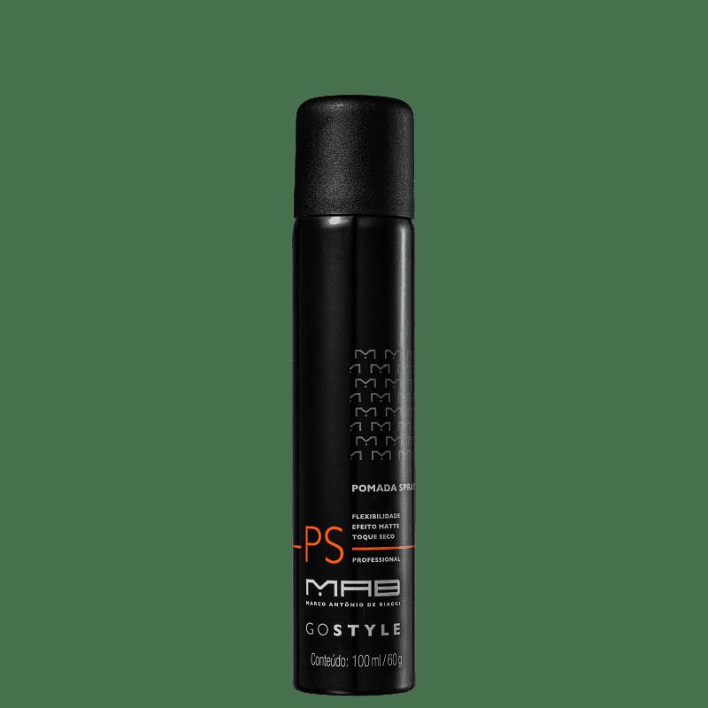 MAB Marco Antônio de Biaggi Go Style Efeito Pomada - Spray Modelador 100ml