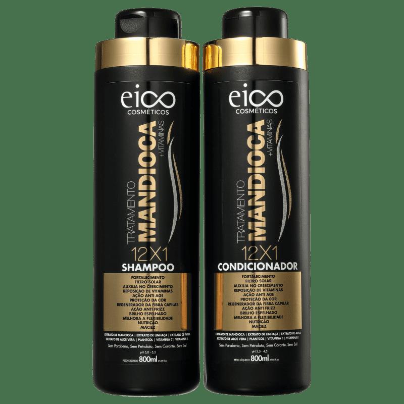 Kit Eico Seduction Tratamento Mandioca (2 Produtos)