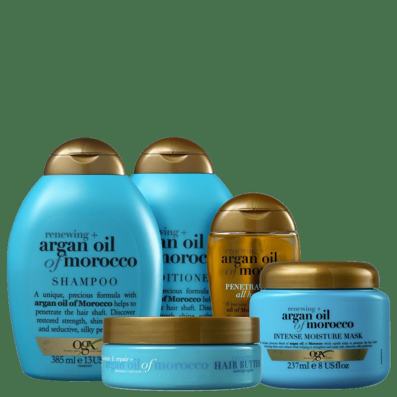 Kit OGX Argan Oil Of Morocco Full (5 Produtos)