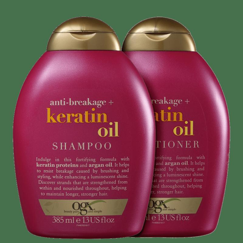 Kit OGX Keratin Oil Duo (2 Produtos)