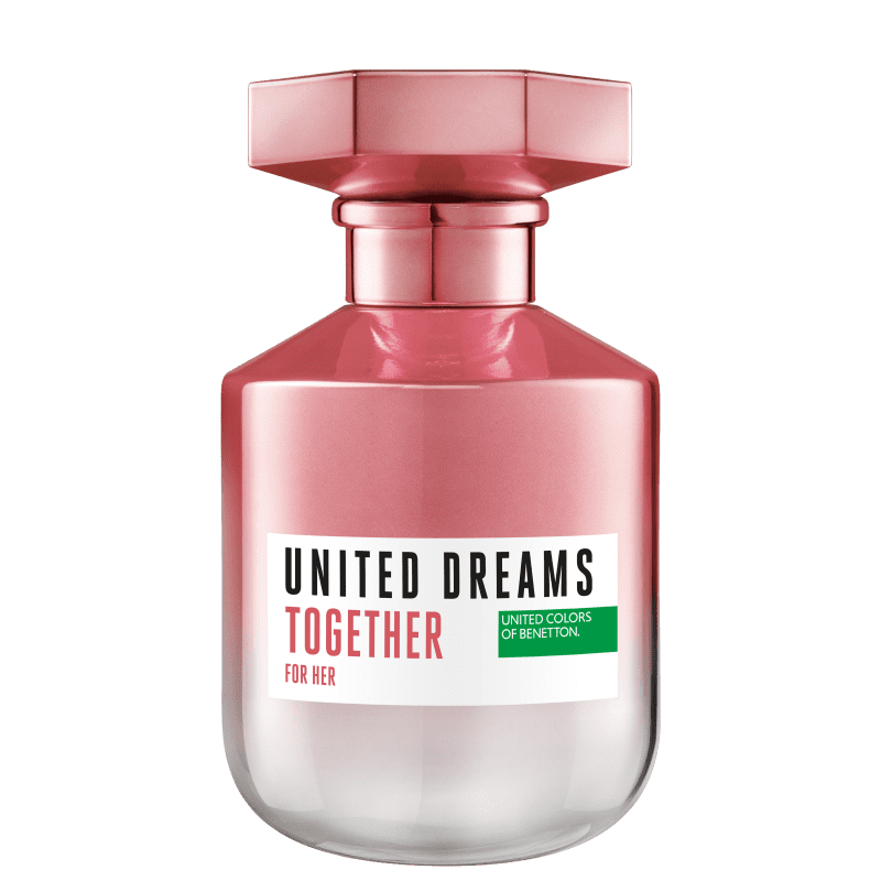 United Dreams Together For Her Benetton Eau de Toilette - Perfume Feminino 80ml