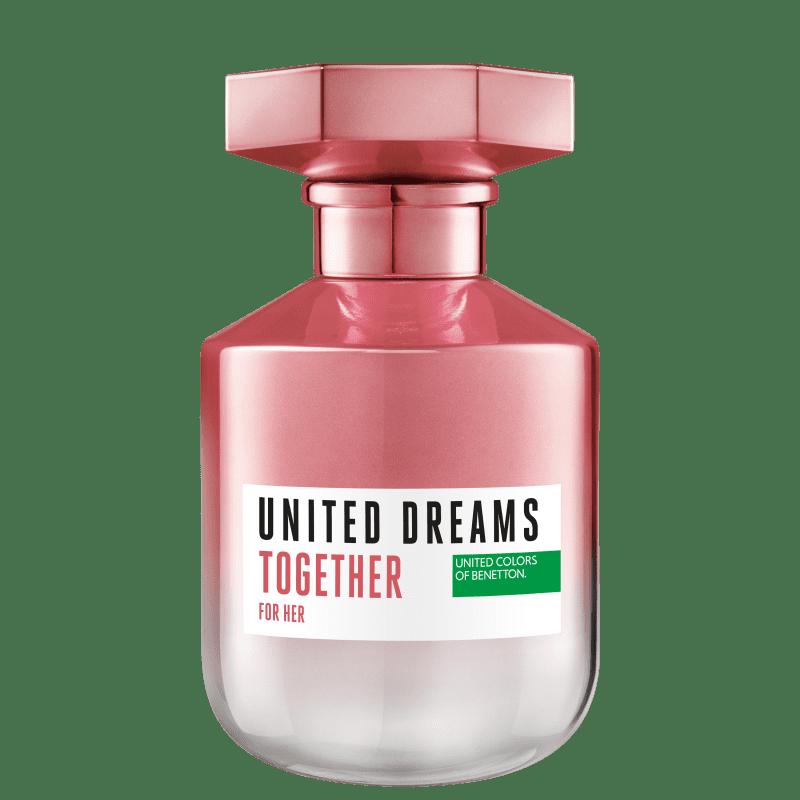 United Dreams Together For Her Benetton Eau de Toilette - Perfume Feminino 80ml
