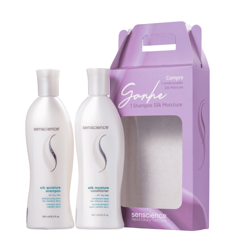 Kit Senscience Liquid Luxury Haircare Silk Moisture (2 Produtos)