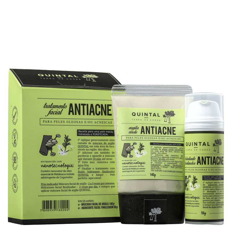 Kit Quintal Tratamento Facial Antiacne (2 Produtos)