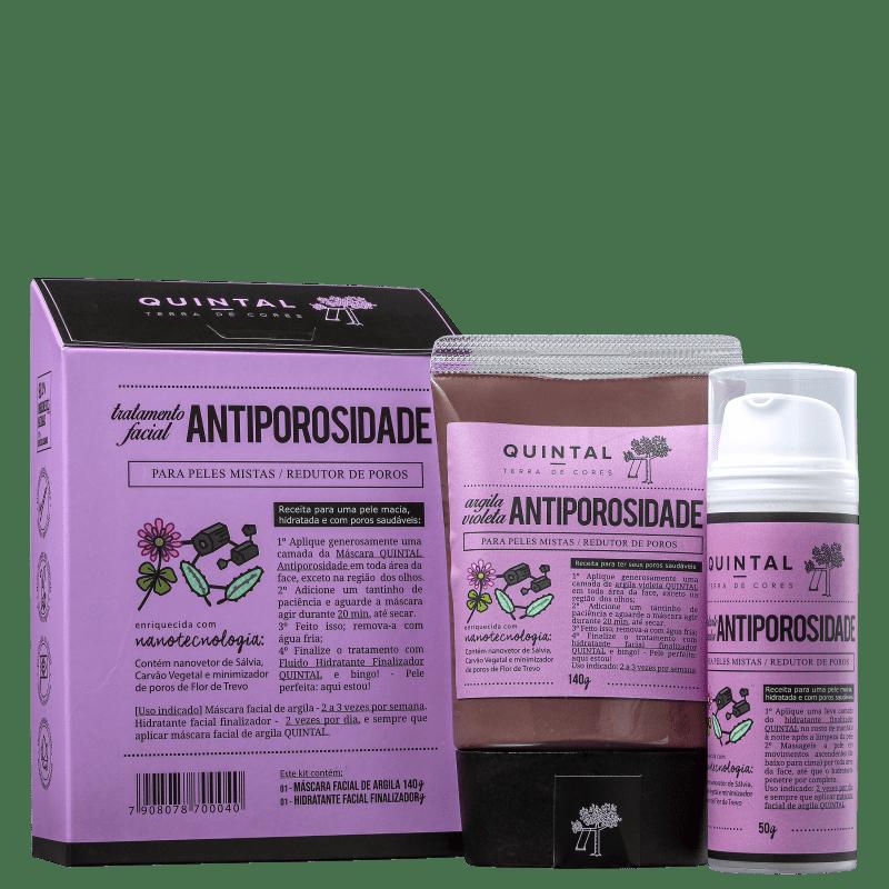 Kit Quintal Tratamento Facial Antiporosidade (2 Produtos)