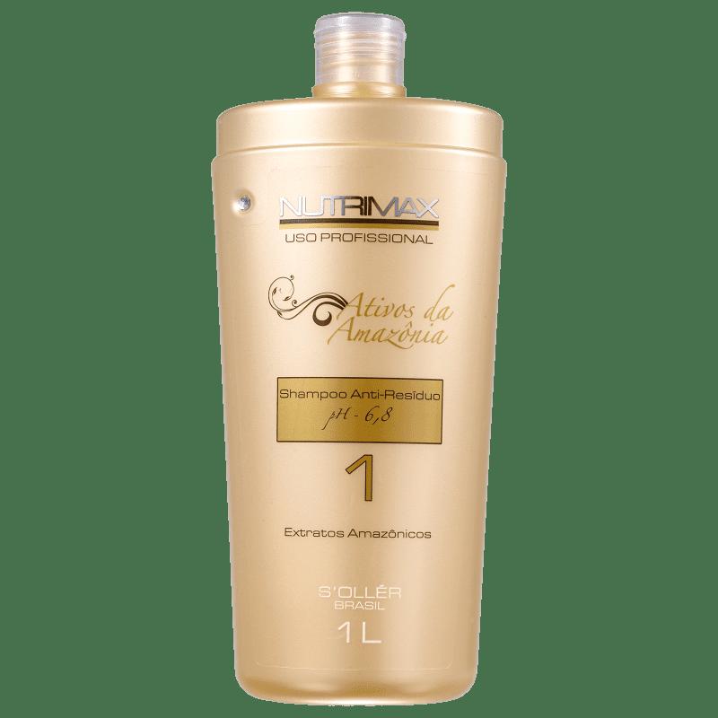 S'ollér Brasil Nutrimax N°1 - Shampoo Antirresíduo 1000ml