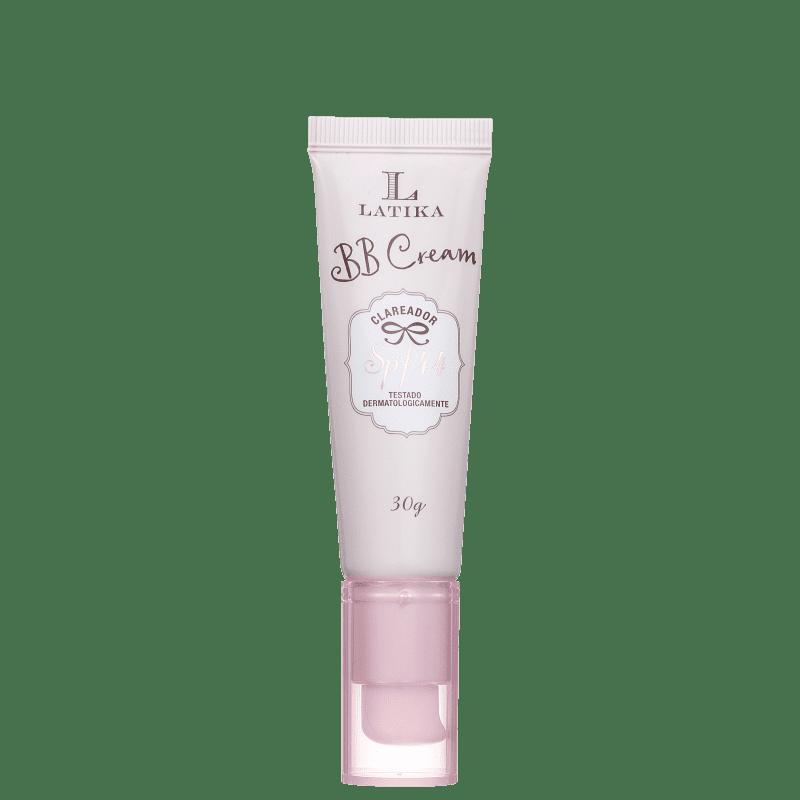 Latika Whitening FPS 44 Claro - BB Cream Clareador 30g