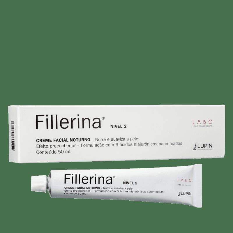 Fillerina Nível 2 Noturno - Creme Anti-Idade 50ml