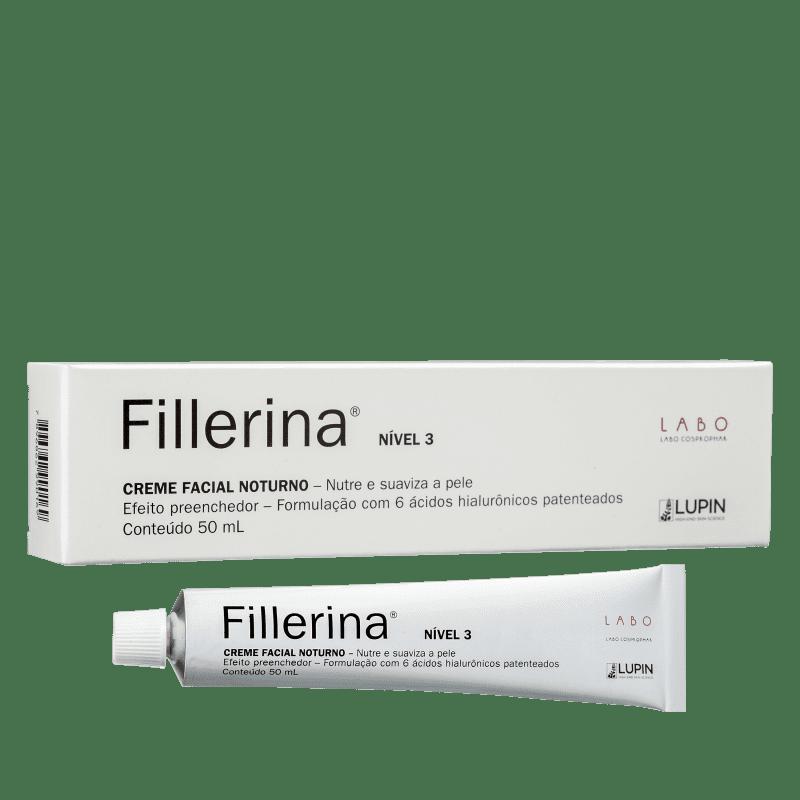 Fillerina Nível 3 Noturno - Creme Anti-Idade 50ml
