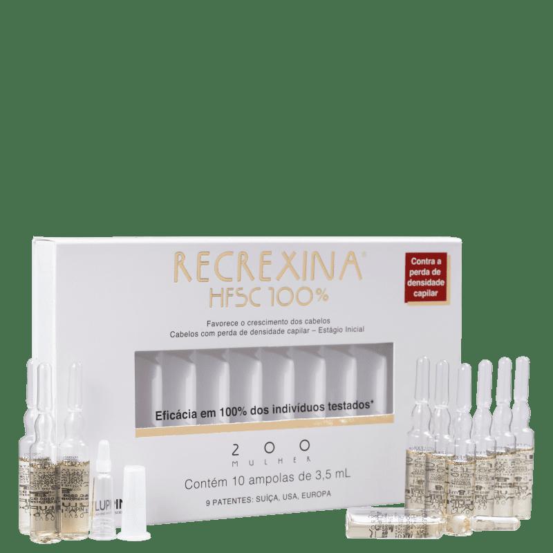 Recrexina HFSC 100% 200 Mulher - Ampolas Capilares 10x3,5ml