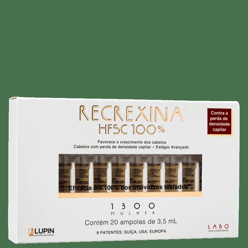 Recrexina HFSC 100% 1300 Mulher - Ampolas Capilares 20x3,5ml