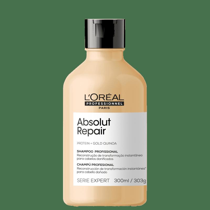L'Oréal Professionnel Serie Expert Absolut Repair Gold Quinoa + Protein - Shampoo 300ml