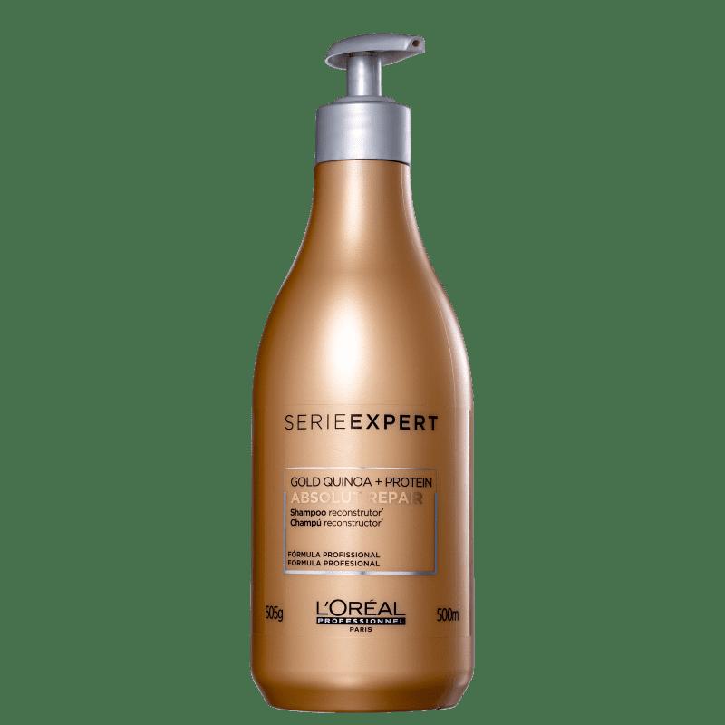 L'Oréal Professionnel Serie Expert Absolut Repair Gold Quinoa + Protein - Shampoo 500ml