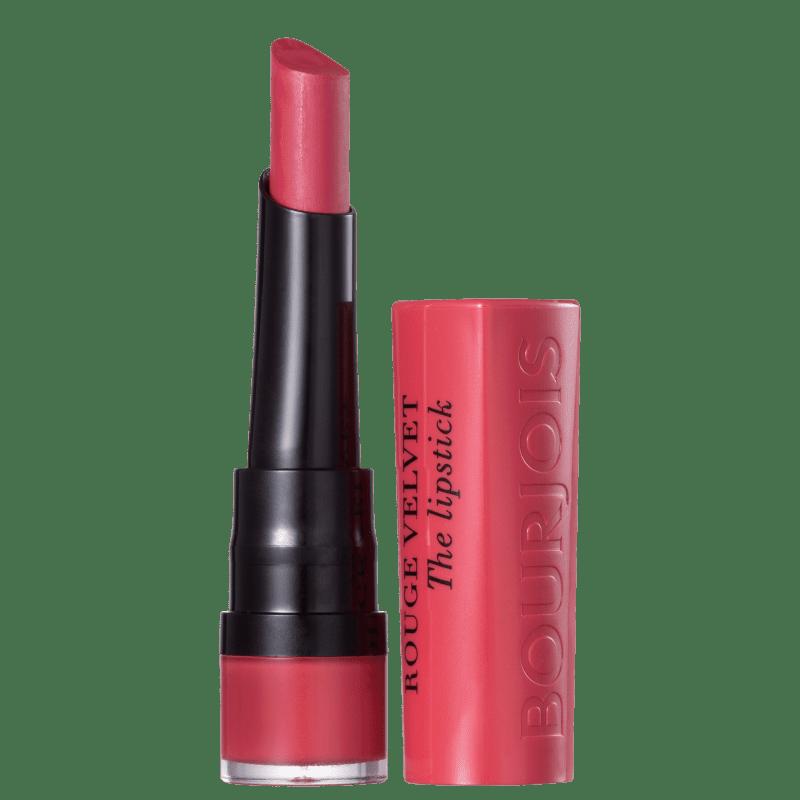Bourjois Rouge Velvet 04 Hip Hip Pink - Batom Matte 7,7ml