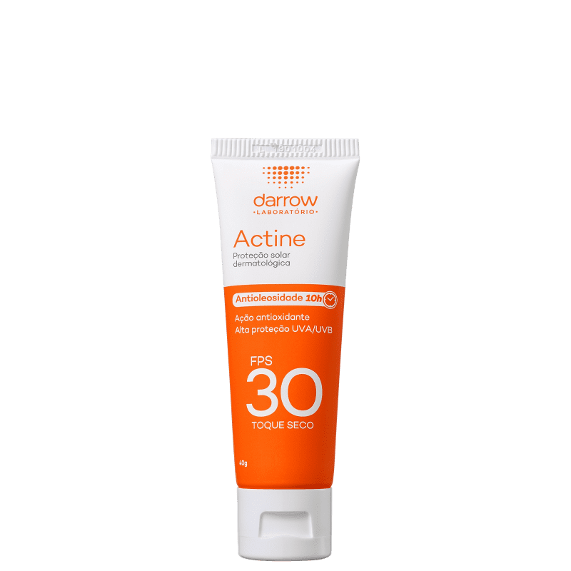 Darrow Actine FPS30 - Protetor Solar Facial 40g