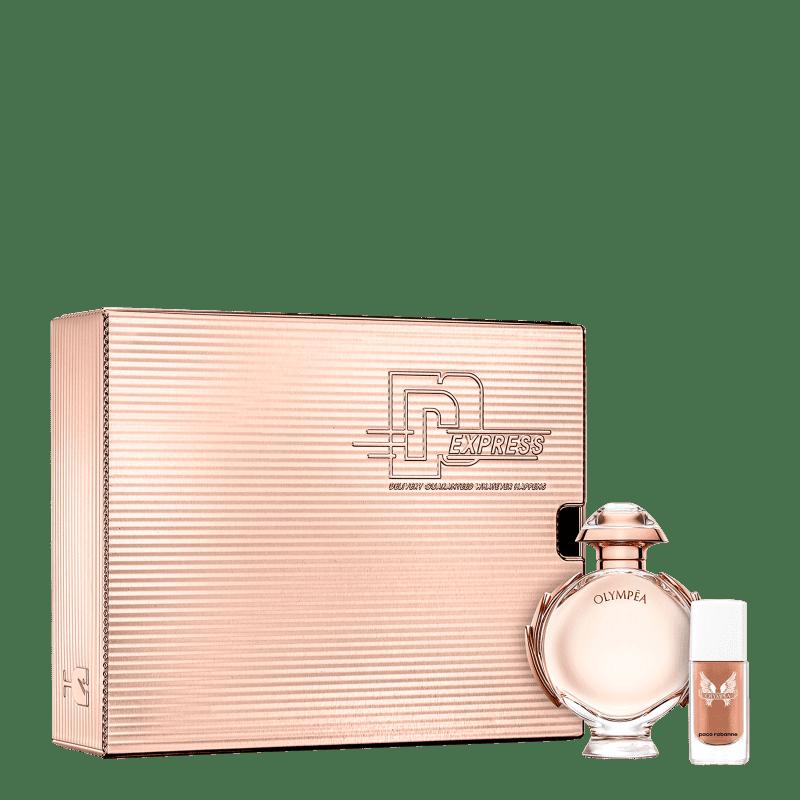 Conjunto Olympéa Paco Rabanne Feminino Eau de Parfum 50ml + Esmalte