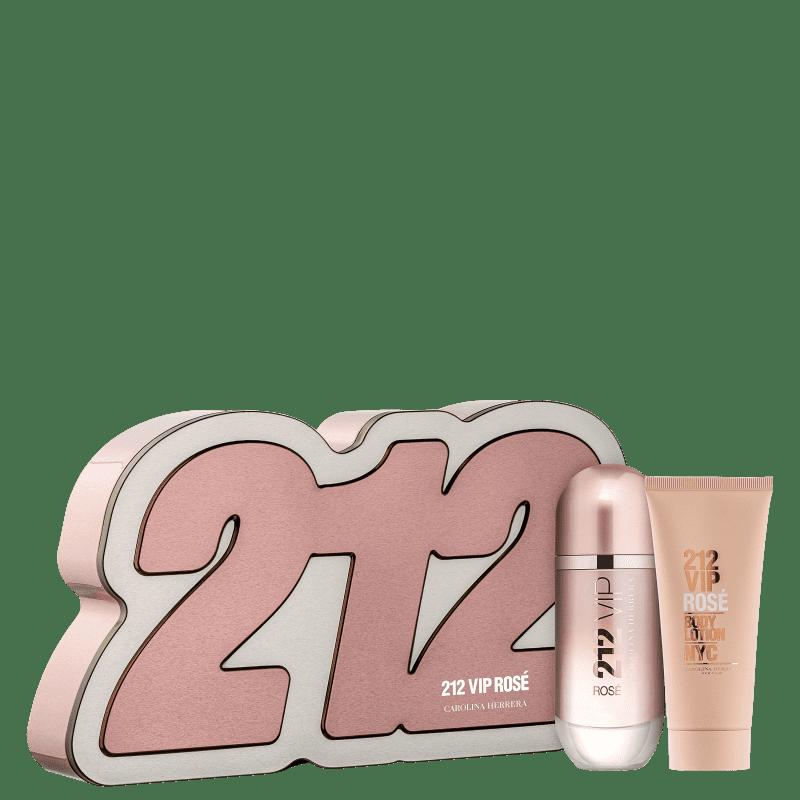 Conjunto 212 VIP Rosé Box Carolina Herrera Feminino - Eau de Parfum 50ml + Loção Corporal 75ml