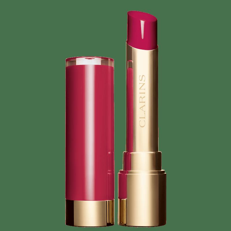 Clarins Joli Rouge Lacquer Pop Pink - Batom Espelhado 3,5g