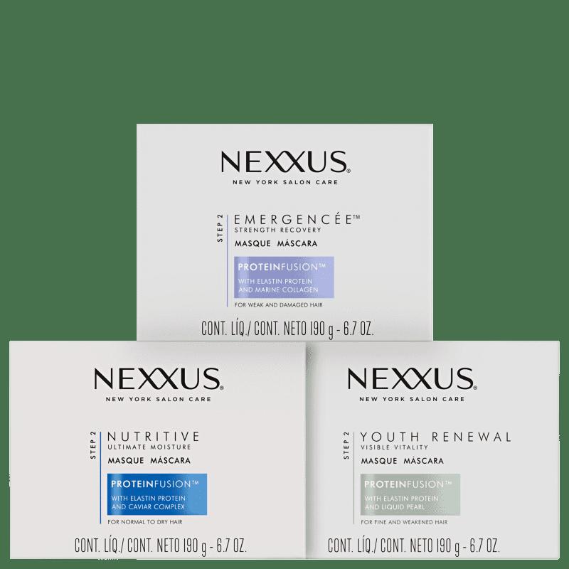 Kit Nexxus Cronograma Capilar (3 Produtos)